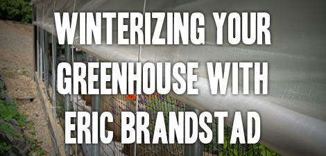 Winterizing Your Greenhouse with Eric Brandstad